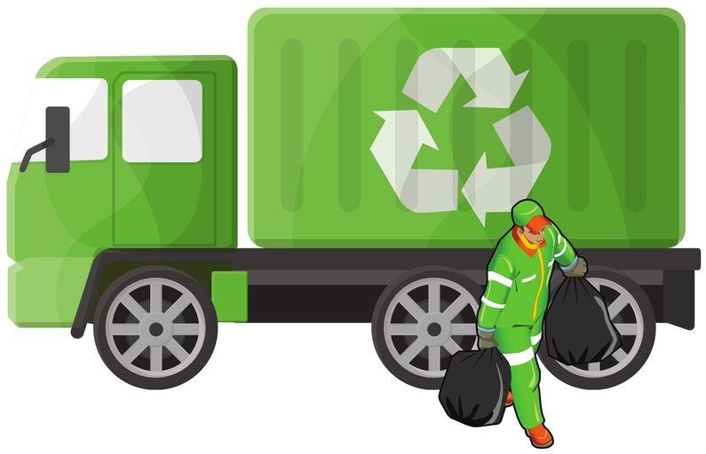 вывоз мусора контейнерами от 8 до 27 кубов